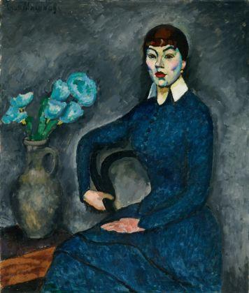 Il'ja Maškov, Ritratto della studentessa Natalija Michajlovna Usovaja, 1915