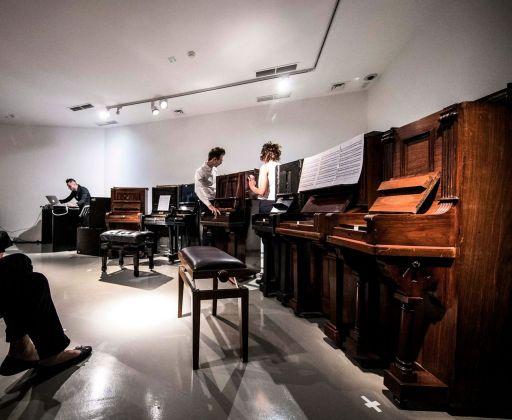 Jacopo Mazzonelli, ABCDEFG. Performance alla Galleria Civica, Trento 2017