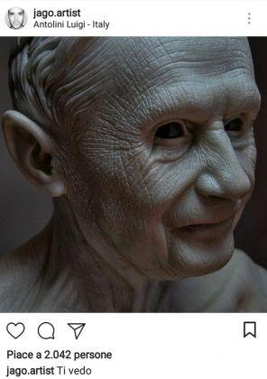 Jago su Instagram - Habemus hominem