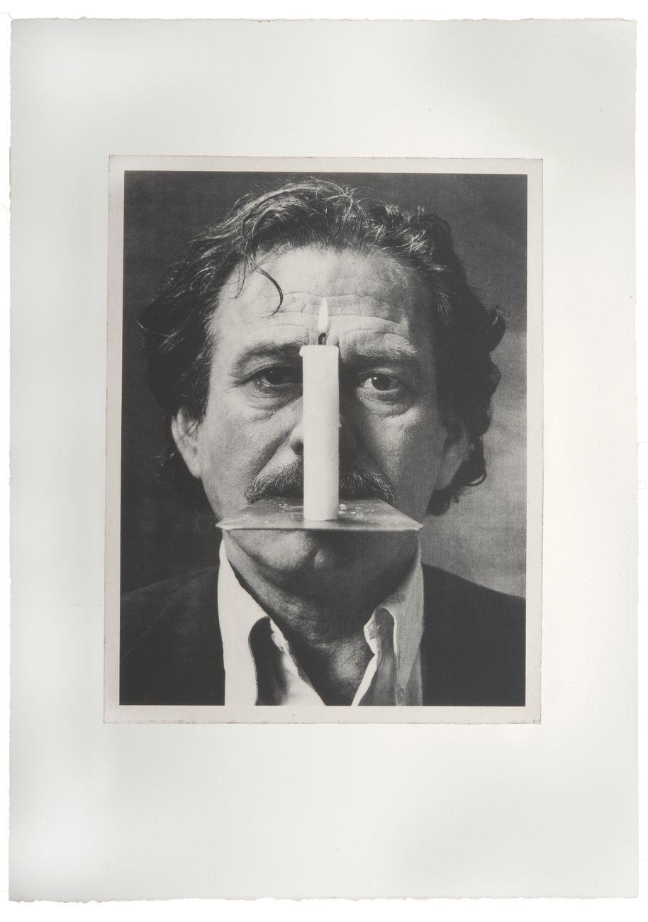 Jannis Kounellis, Opus I #29, 2003-2005, fotoserigrafia (Foto originale Claudio Abate; Riproduzione fotografica Antonio Idini)