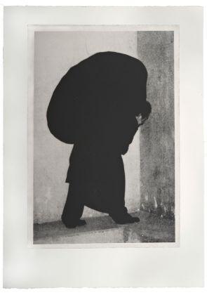 Jannis Kounellis, Opus I #47, 2003-2005, fotoserigrafia (Foto originale Magdalena Martinez Franco; Riproduzione fotografica Antonio Idini)