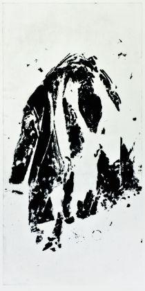 Jannis Kounellis, Senza titolo, 2014, carborundum. Photo Stefano Tubaro
