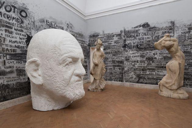 Jim Dine. House of Words. Exhibition view at Accademia Nazionale di San Luca, Roma 2017-18. Photo Andrea Veneri