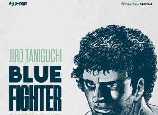 Jiro Taniguchi – Blue Fighter (J-POP Manga, Milano 2018). Copertina