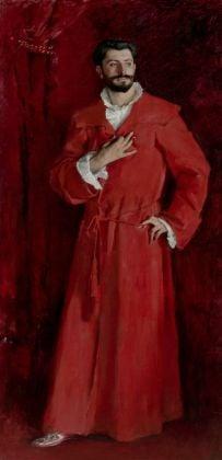 John Singer Sargent, Dr Samuel Jean Pozzi,1881.Los Angeles, The Hammer Museum.Armand hammer Collection