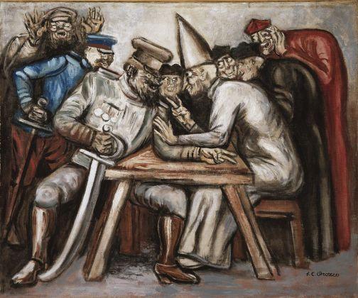 José Clemente Orozco, Don Juan tenorio, 1946, olio su tela, Museo de Arte Carrillo Gil