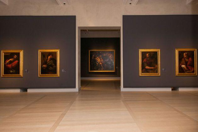 L'ultimo Caravaggio. Eredi e nuovi maestri. Installation view at Gallerie d'Italia – Piazza Scala, Milano 2017. Photo © Maurizio Tosto