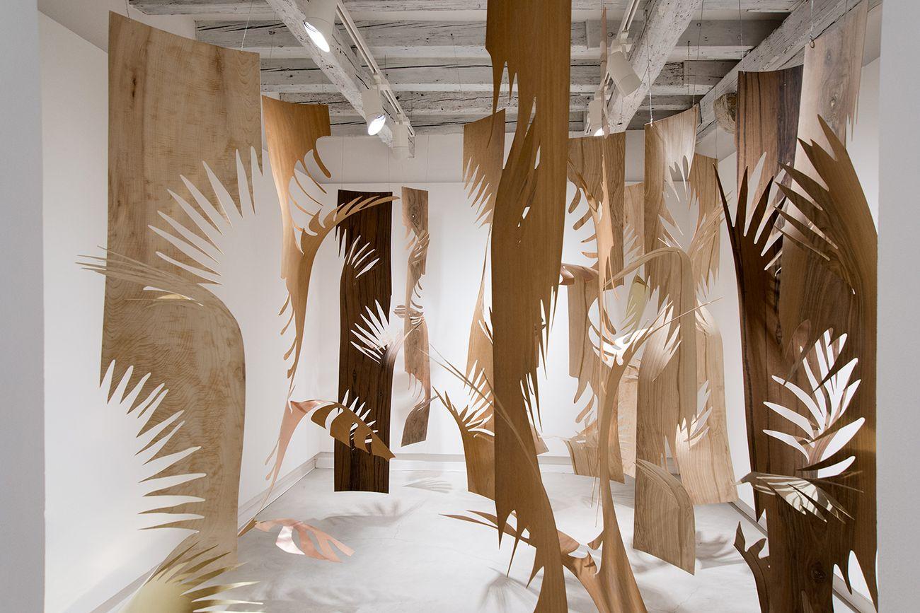 Laura Renna, Grove, 2016. Installation view at Marignana Arte, Venezia. Courtesy l'artista. Photo Enrico Fiorese