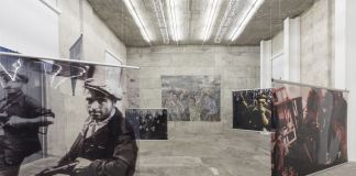 Leon Golub. Exhibition view at Fondazione Prada, Milano 2017