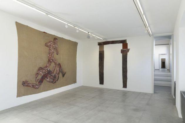 Leon Golub. Exhibition view at Fondazione Prada, Milano 2017