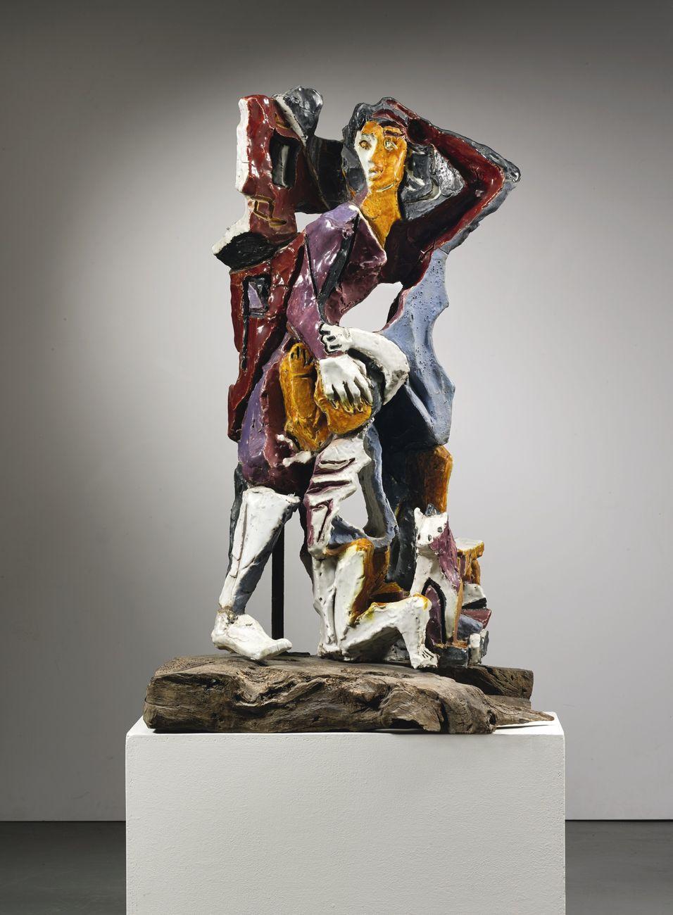 Leoncillo, Senza titolo (Donna con bambino), 1949. Courtesy Sotheby's