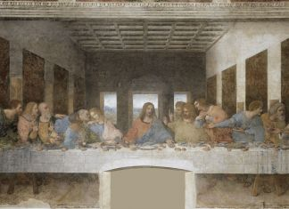 MILANO, MUSEO DEL CENACOLO VINCIANO Leonardo da Vinci, ULTIMA CENA