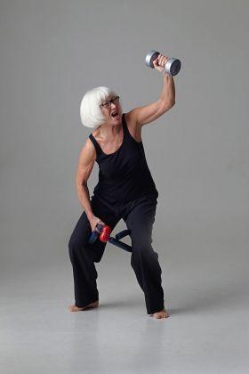 Margot Pilz, Anti Aging. Photo Daniela Beranek © Margot Pilz