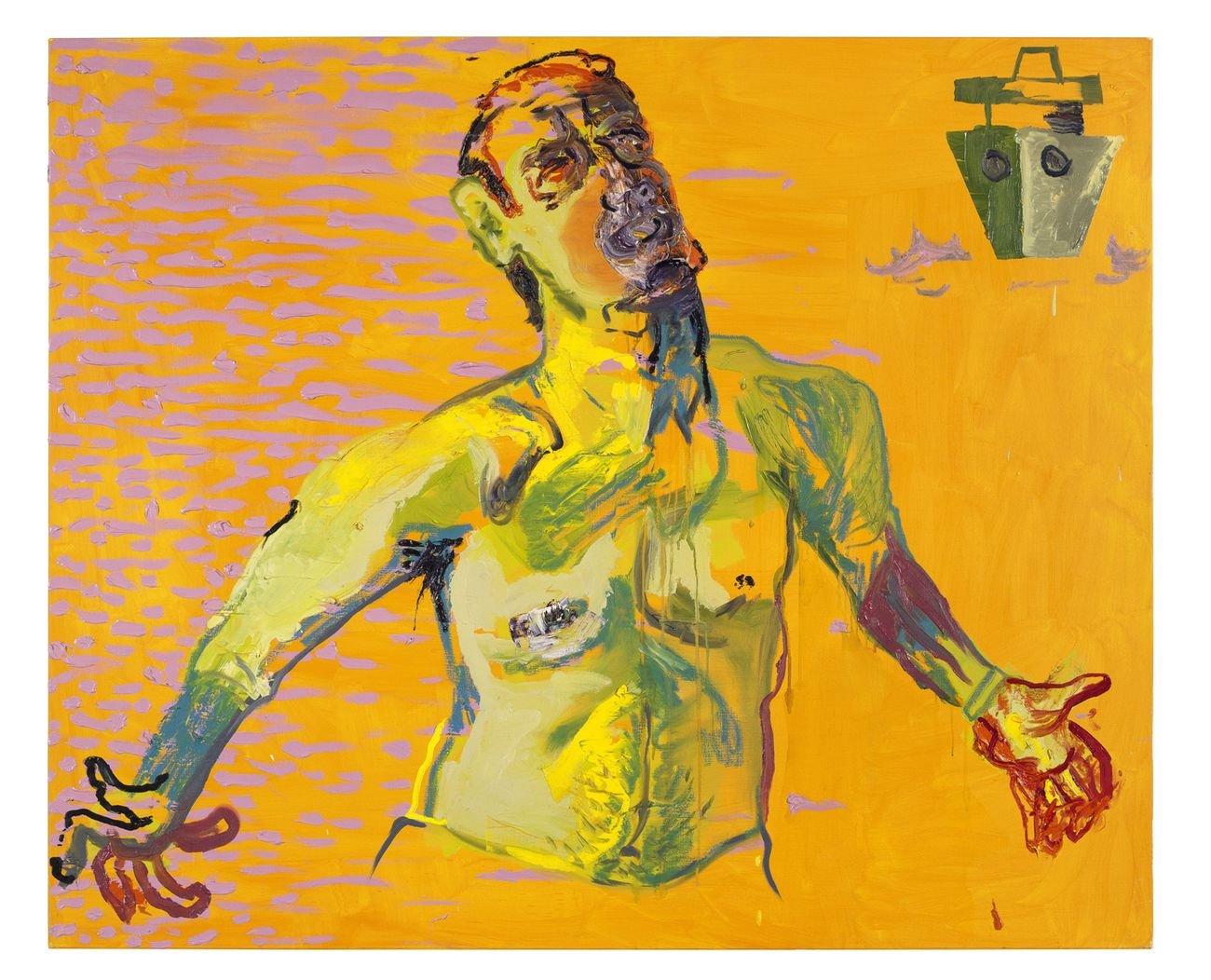 Martin Kippenberger, Ohne Titel (aus der Serie Das Floß der Medusa), 1996 © Estate of Martin Kippenberger, Galerie Gisela Capitain, Colonia