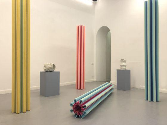 Matteo Nasini, Il Giardino Perduto, Exhibition detail. Courtesy Operativa, Rome