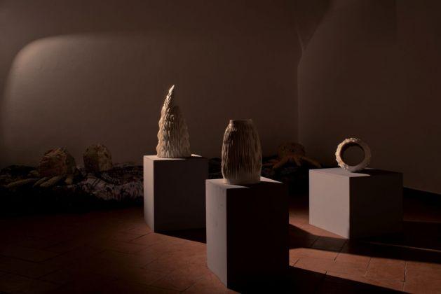 Matteo Nasini. Il Giardino Perduto. Installation view at Operativa Arte Contemporanea, Roma 2018. Photo Francesco Demichelis