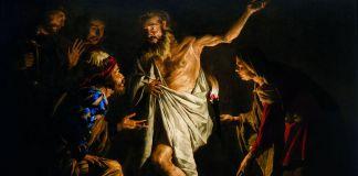 Matthias Stom, Saul fa evocare Samuele dalla pitonessa di Endor, 1639-41 ca. Collezione privata. Courtesy Robilant+Voena