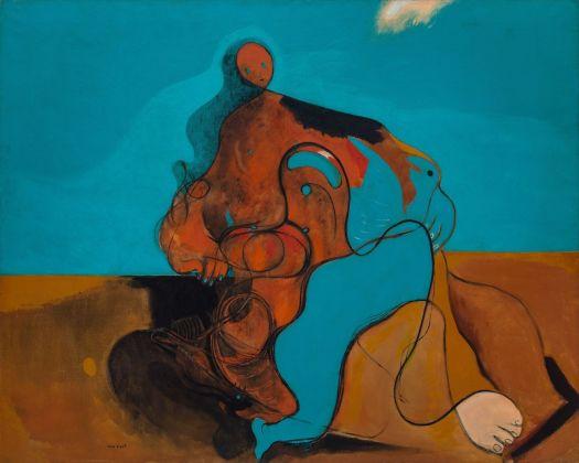 Max Ernst, Il bacio, 1927