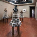 Materia Montelupo. Installation view at Palazzo Podestarile, Montelupo Fiorentino 2017. Michele Guido. Photo Mario Iensi
