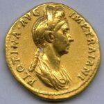 Moneta con ritratto di Plotina. © Roma, Museo Nazionale Romano – Archivio Fotografico del Museo Nazionale Romano