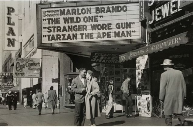Neal Cassady & Natalie Jackson, San Francisco, 1955 © Allen Ginsberg Estate