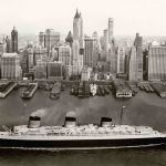 Normandie in New York, 1935 39 © Collection French Lines