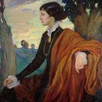 Olga Della Vos Kardovskaja, Ritratto di A. Achmatova, 1914
