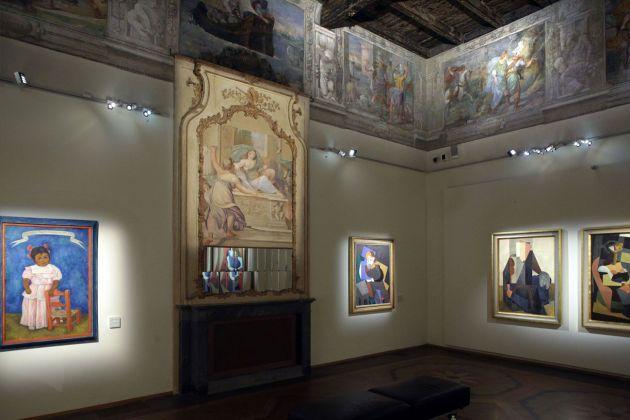 """Orozco, Rivera, Siqueiros. México. """"La mostra sospesa"""". Exhibition view at Palazzo Fava, Bologna 2017, photo Paolo Righi/Meridiana Immagini"""
