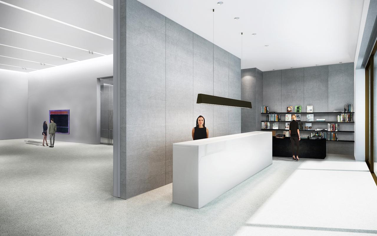 Il quartier generale della Pace Gallery a New York