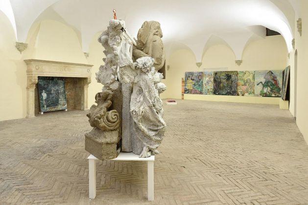 Paola Angelini. La conquista dello spazio. Exhibition view at Spazio K, Palazzo Ducale, Urbino 2017
