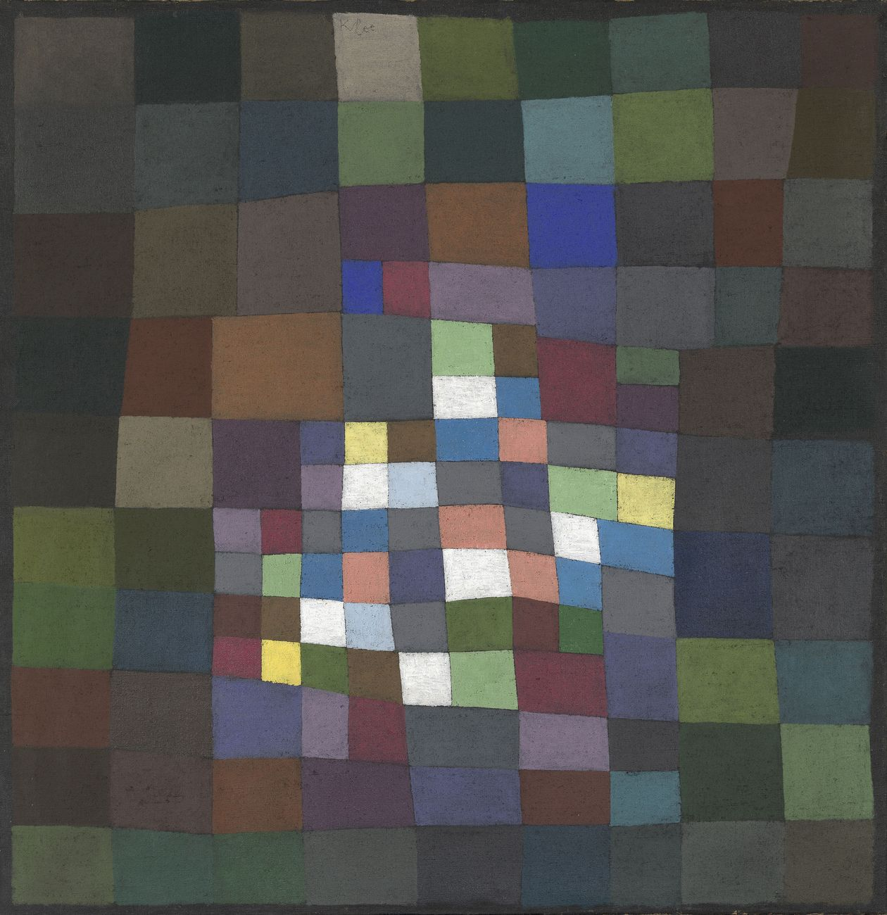 Paul Klee, Blühendes, 1934. Musée des Beaux Arts de Winterthour. Photo © Institut suisse pour l'étude de l'art, Zurich, Philipp Hitz