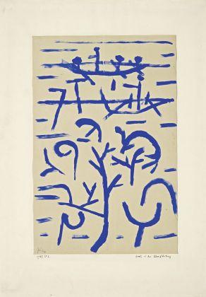 Paul Klee, Boote in der Überflutung, 1937. Fondation Beyeler, Riehen. Photo Robert Bayer