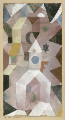 Paul Klee, Die Kapelle, 1917. Fondation Beyeler, Riehen. Photo Peter Schibli