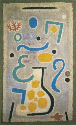 Paul Klee, Die Vase, 1938. Fondation Beyeler, Riehen. Photo Peter Schibli