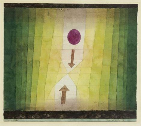 Paul Klee, Vor dem Blitz, 1923. Fondation Beyeler, Riehen. Photo Peter Schibli