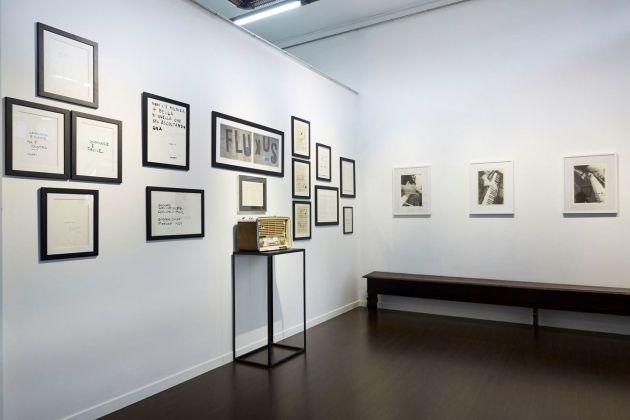 PentaChiari. Cinque gallerie per Giuseppe Chiari. Installation view at Armanda Gori Arte, Prato