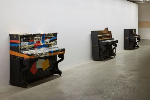 PentaChiari. Cinque gallerie per Giuseppe Chiari. Installation view at Frittelli Arte Contemporanea, Firenze