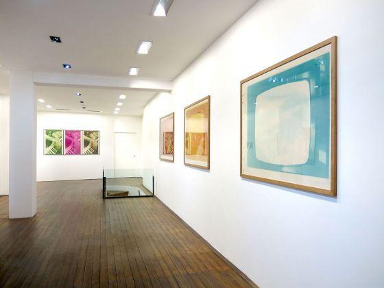 PentaChiari. Cinque gallerie per Giuseppe Chiari. Installation view at Il Ponte, Firenze