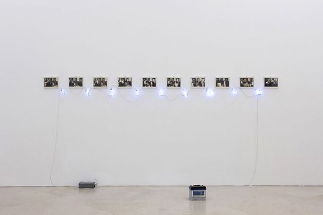 Per_formare una collezione. The Show Must Go_ON e Darren Bader. (@mined_oud). Exhibition view at Museo Madre, Napoli 2017. Courtesy Fondazione Donnaregina per le arti contemporanee, Napoli. Photo © Amedeo Benestante