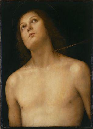 Perugino, San Sebastiano, 1494 ca. The State Hermitage Museum, San Pietroburgo. Credits The State Hermitage Museum, 2017. Photo Vladimir Terebenin
