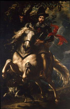 Peter Paul Rubens, Giovan Carlo Doria a cavallo, 1606. Genova, Galleria Nazionale della Liguria a Palazzo Spinola