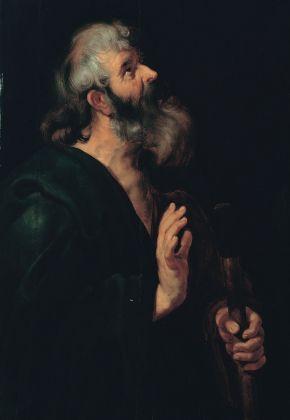 Peter Paul Rubens (e bottega), San Mattia, 1613-20. Roma, Galleria Pallavicini