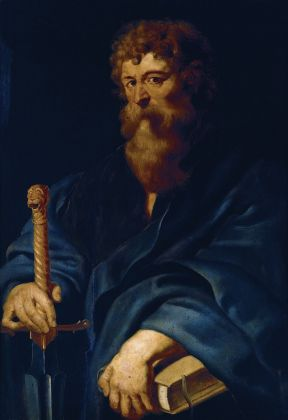 Peter Paul Rubens (e bottega), San Paolo, 1613-20. Roma, Galleria Pallavicini