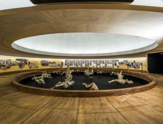 Pompei e l'Europa. 1748-1943. Museo Archeologico nazionale di Napoli, 2015. Veduta dell'allestimento di Francesco Venezia