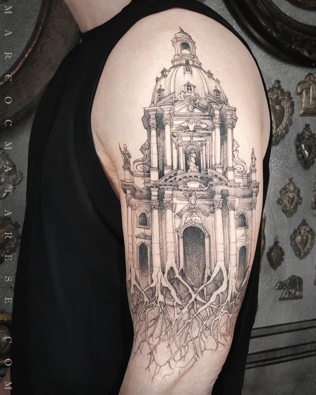 Puro Tattoo Studio, tattoo by Marco C. Matarese
