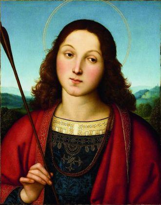 Raffaello, San Sebastiano, 1502-03 ca. Accademia Carrara, Bergamo. Credits Fondazione Accademia Carrara, Bergamo