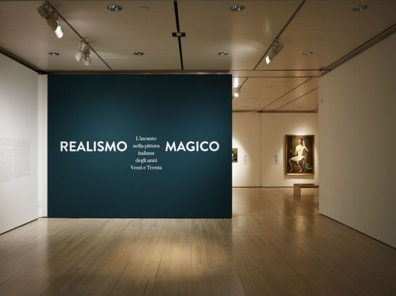 Realismo Magico. Installation view at MART, Rovereto 2017