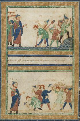 Relatio de innovatione ecclesie sancti Geminiani, XII XIII secolo. Modena, Archivio Capitolare