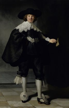 Rembrandt van Rijn (1606 1669), Portrait of Marten Soolmans,1634.Purchased by the Kingdom of the Netherlands for the Rijksmuseum