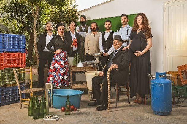 Ritratto del gruppo CGS firmato Casa a Mare (in collaborazione col fotografo Francesco Torricelli e la curatrice Laura Perrone)